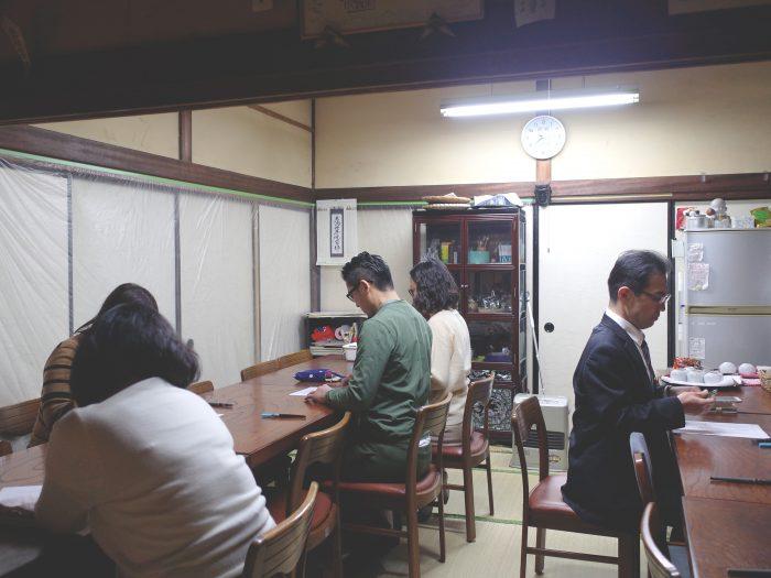 夜ZEN活部,広尾,ワークショップ,筆ペン