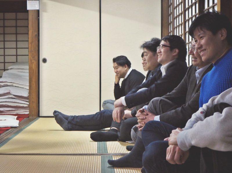 第二回東京夜ZEN活部座談会参加者風景